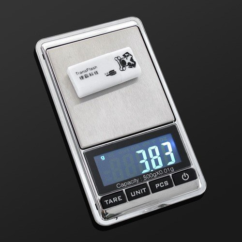 Price comparison product image Homily Digital Pocket Scale 500G 0.01g Electronic Scales Precision Jewelry Gram Weighing Weight Balance Tare PCS Function
