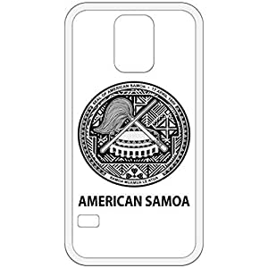 American Samoa - Coat Of Arms Flag Emblem White Samsung Galaxy S5 Cell Phone Case - Cover