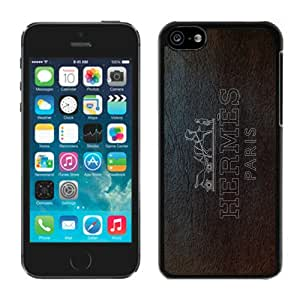 Popular Designed Phone Case For iPhone 5C With Hermes 5 Black Phone Case