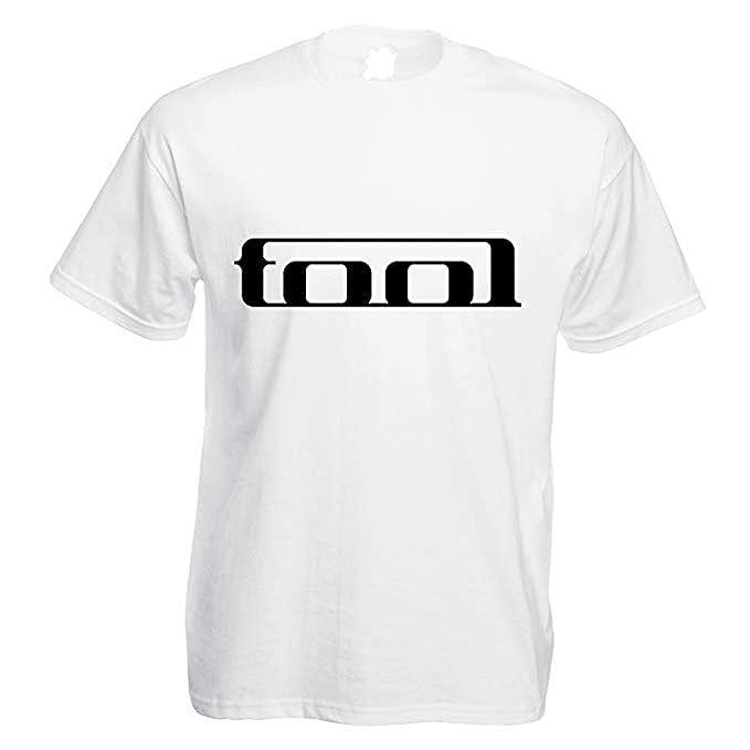 TINCURI Camiseta Hombre Blanca Tool (XS-XXL) XXL
