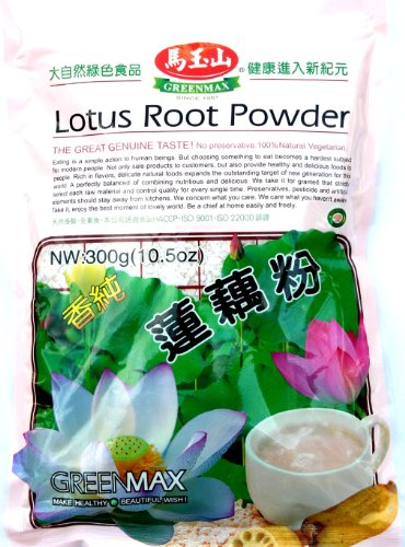 Greenmax Lotus Root Powder 10.50oz (pack of 2)