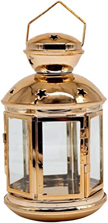 Piso De Jardín Colgante Linterna Colgante Vidrio A Prueba De Viento Metal Candelero Cocina Restaurante Decoración para El Hogar Simple Manualidades: Amazon.es: Hogar