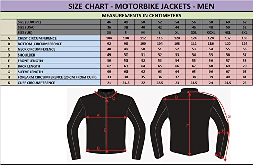 Spyke East Coast WP Giacche Moto in Tessuto Per Uomo (Nero, EU58)
