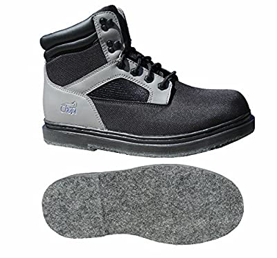 Chota Outdoor Gear Wading Boots, STL Light, Super Light, 1 1/4 Pounds, Felt Sole Bottom, Lasting Durable Comfort