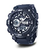 U.S. Navy Wrist Armor Men's 'C40' Quartz Resin and Rubber Sport Watch, Color:Black (Model: 37400033)