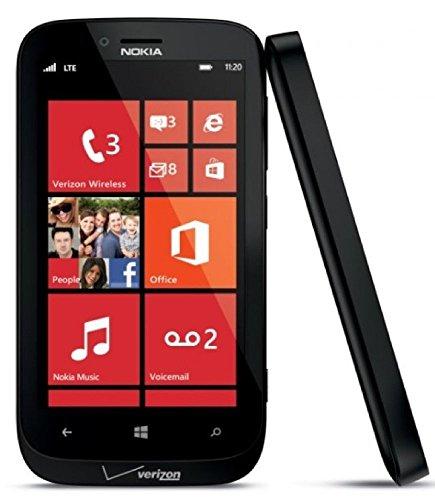 Nokia Lumia 822 GSM  Verizon CDMA 4G LTE Windows Smartphone -Black