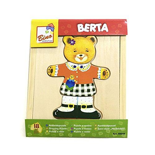 [해외]Mertens 드레스 퍼즐 곰 아 / Mertens Dress Up Puzzle Bear Girl