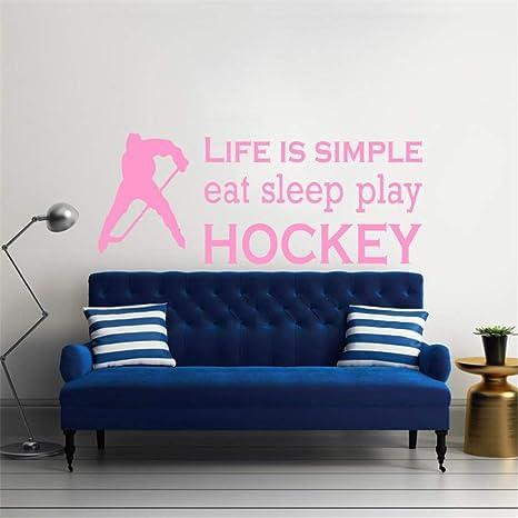Los deportes comen juego de dormir Hockey cotizaciones ...
