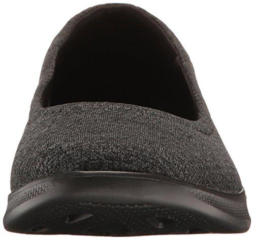 Step Skechers Black Performance Walking gray Go Shoe Lite evoke Women's OOtZP