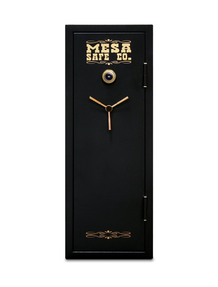 Mesa Safe MBF5922C 14 Gun Capacity All Steel Gun Safe with Combination Lock, 7.9-Cubic Feet, Black by Mesa Safe