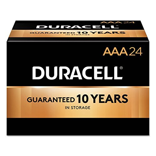 Coppertop Alkaline Batteries, Aaa, 144/ct by Duracell