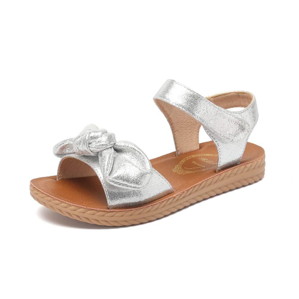 Tuoup Cute Bowknot Leather Falt Sandles Kids Sandals for Girls