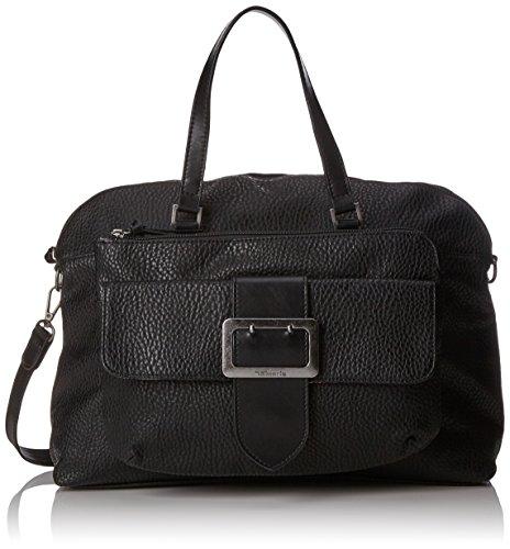 Black Mujer Lee H Comb B T 12x31x42 Tamaris x Bolso cm Business Bag Schwarz 4RH6q