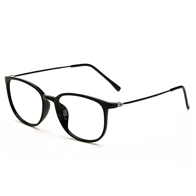 Amazon.com: D.king Womens Fashion Oversized Horn Rimmed Clear Lens ...