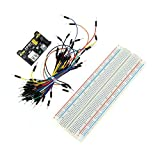 Generic Professional DIY Kit Solderless Breadboard Connecting Jumper Wire Bundle Power Supply Module for Arduino