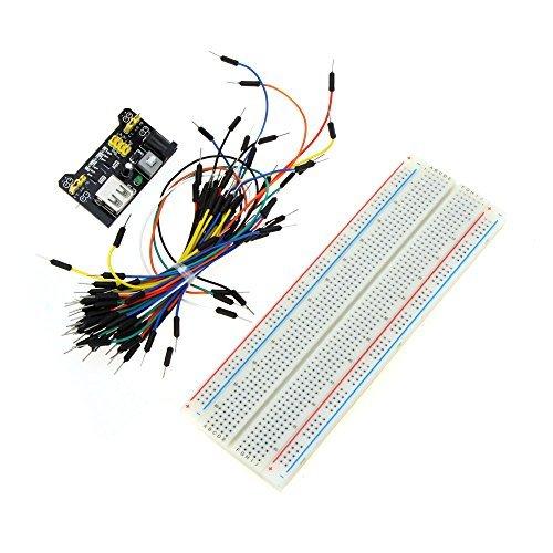 Generic Professional DIY Kit Solderless Breadboard Connecting Jumper Wire Bundle Power Supply Module for Arduino