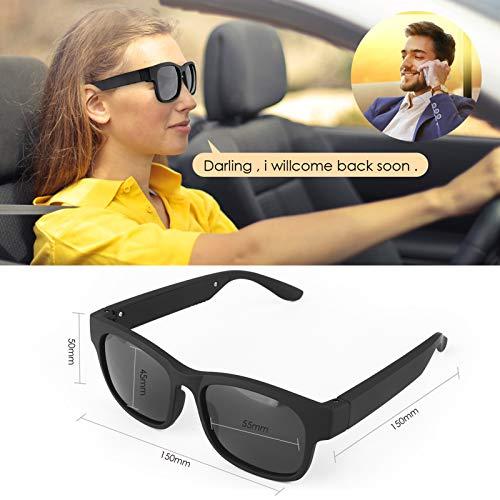 GELETE Smart Glasses Wireless Bluetooth Sunglasses Open Ear Music&Hands-Free Calling,for Men&Women,Polarized Lenses,IP4…