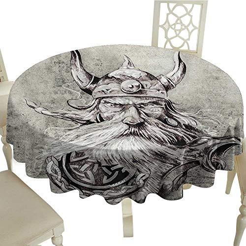 Tattoo Jacquard Tablecloth D 70