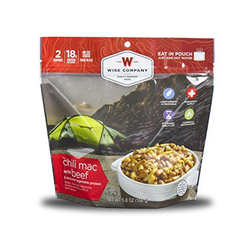 Wise Food Company Chili Mac with Beef, Red, One (Company Beef)