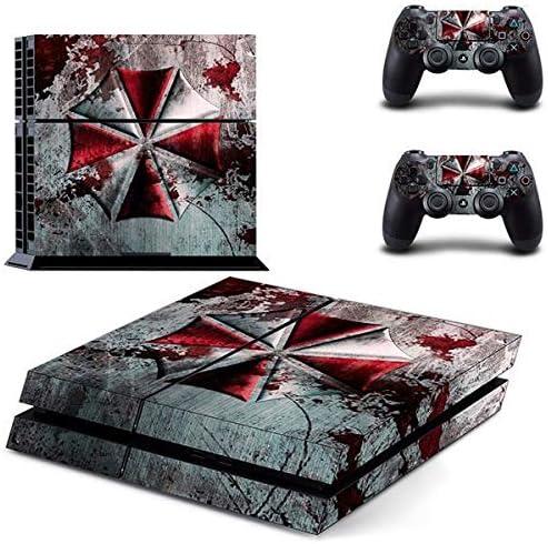 PlayStation 4 Controlador + 2 pegatinas – Protector de pantalla Set Umbrella Corporation (1)/PS4: Amazon.es: Juguetes y juegos