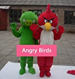 High Quality! Very Vivid! Angry Birds Adult Size Cartoon Mascot Costume