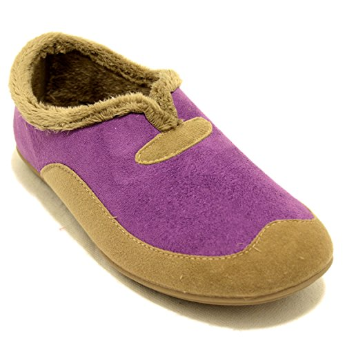 Vulca Zapatillas Moradas Lisas Púrpura Bicha qxF5qr08Rw