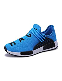 JiYe Men's Running Shoes Women's Free Transform Flyknit Fashion Sneakers