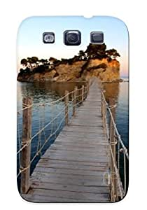 BvlPG0mNKAh Tpu Phone Case With Fashionable Look For Galaxy S3 - Bridge To Island Case For Christmas Day's Gift