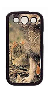 Design Hard Customized case Of galaxy s3 Shell - Two wily dogs