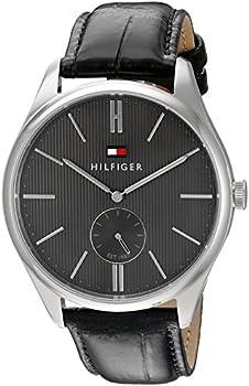 Tommy Hilfiger Men's Analog Display Black Watch