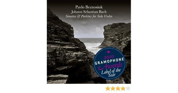JS Bach Sonatas and Partitas for Solo Violin