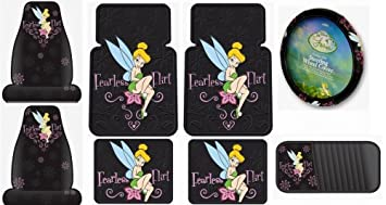 Fantastic Tinkerbell Fearless Flirt 8Pc Combo Front Rear Car Floor Pabps2019 Chair Design Images Pabps2019Com