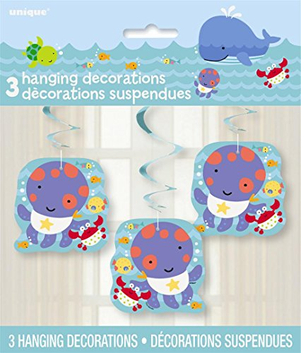 Hanging Under Sea Decorations 3ct