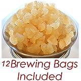 QUARTER POUND Original Water Kefir Grains Exclusively from Florida Sun Kefir with 12 Brewing Bags