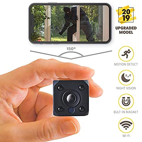 - 51xVhBq0EVL - [2019 New] HD 1080P Mini Spy Camera Wireless Hidden Camera Small WiFi Home Security Cameras Night Vision – IP Nanny Cam Indoors Office Car Video Recorder Motion Activated Monitoring Recording Device electronics - 51xVhBq0EVL - Home Page