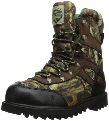 8' Insulated Hunting Boots - Wood n' Stream Men's 1003 Interceptor Boot,Mossy Oak Break Up Infinity,9.5 M US