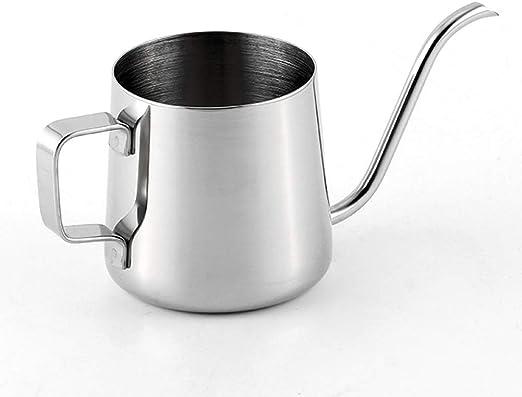 Cafetera de 250 ml de largo, tetera de café, té de cuello de cisne ...