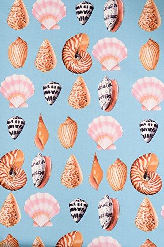 Seashell Retrokleid Maya Damen Kleid Hell Hellblau mit Bay Muscheln Bunny allover qxXpwWUg