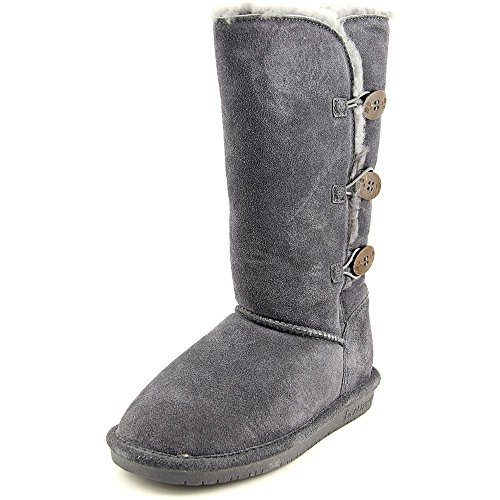 BEARPAW Women's Lauren Winter Boot, Charcoal, 11 M US