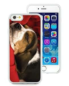 Fashion Style iPhone 6 Case,Christmas Dog White iPhone 6 4.7 Inch TPU Case 26