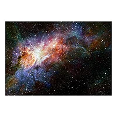 Lovely Craft, Classic Artwork, Beautiful Multicolored Galaxy Wall Mural