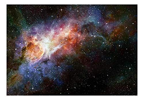 Beautiful Multicolored Galaxy Wall Mural