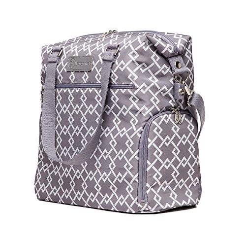 Sarah Wells Lizzy Breast Pump Bag (Gray) by Sarah Wells (Image #7)