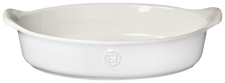 Emile Henry 239028 HR Ceramic Small oval baker, Sugar