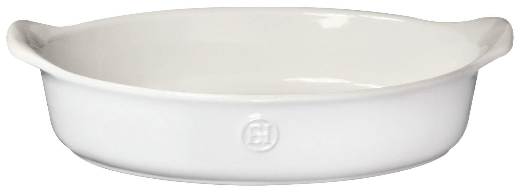 Emile Henry 239028 HR Ceramic Small Oval Baker, Sugar