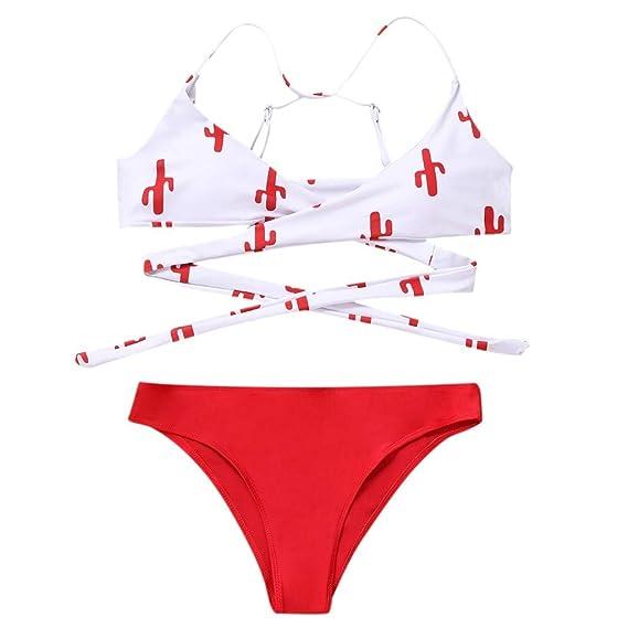 OPAKY Traje de Baño Bikini Mujer 2019 Sujetador Acolchado ...