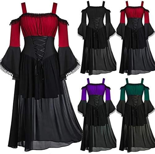 Damen Gotik Vampir Königin Spitzen-Rüsche Mini Schulterjacke