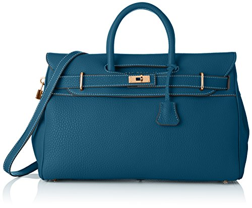 Lagon Pyla Sac Bleu main Bleu Mac Douglas porté Romy S Pzaqw5I