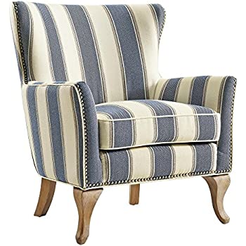 Amazon.com: Jofran Accent Chair in Flax Finish: Kitchen & Dining