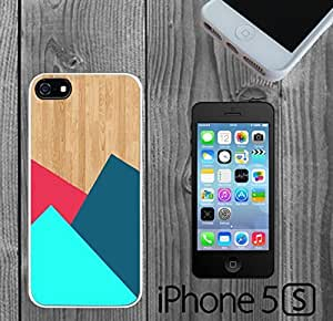 Colorful Pattern Wood Custom made Case/Cover/skin FOR iPhone 5/5s
